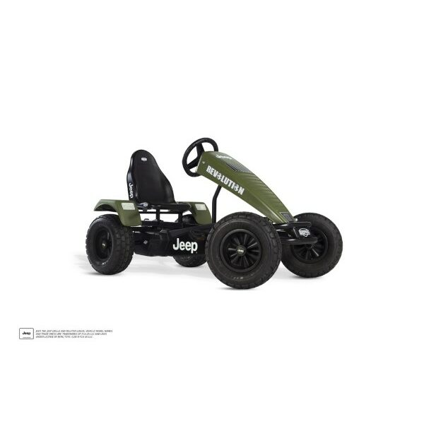 Jeep Revolution pedal go-kart XL BFR-3
