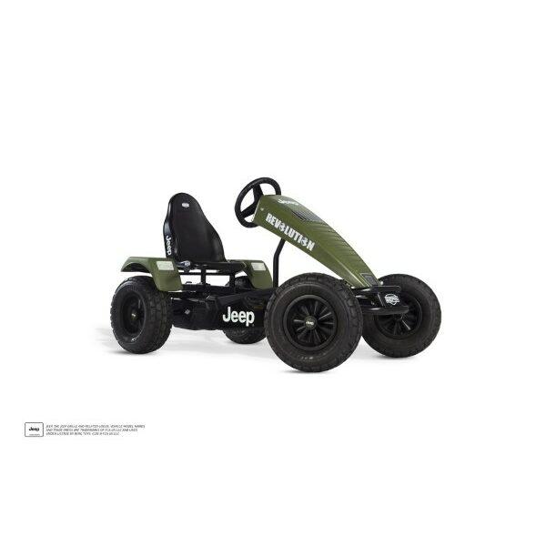 Jeep Revolution XXL pedal go-kart E-BFR