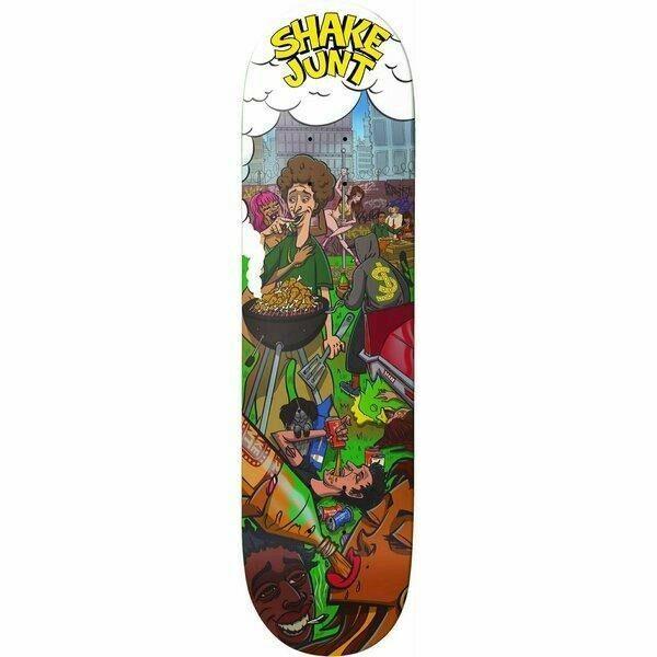 Shake Junt Backyard Deck 8.5