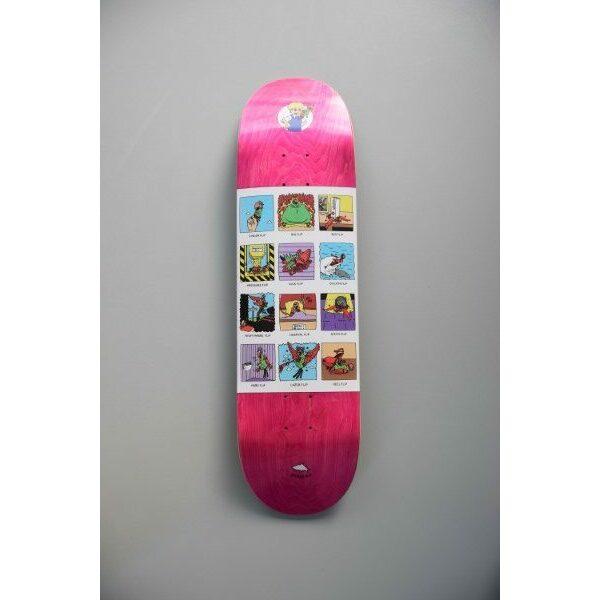 Scarfish Skateboardtricks Pink
