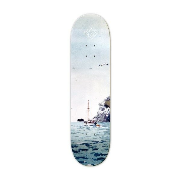 Sailing Boat - High concave 8.125