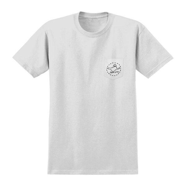 Krooked T-shirt Trinity White